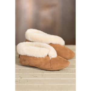 Women′s Sophia Soft-Sole Sheepskin Slippers pictures & photos
