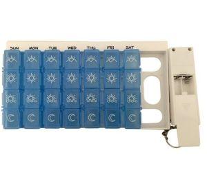 Digital 7days Pill Reminder Pill Box Case Timer pictures & photos
