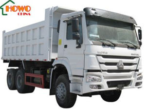 HOWO 10L Engine Middle Tipping Truck with China Brand Cylinder pictures & photos