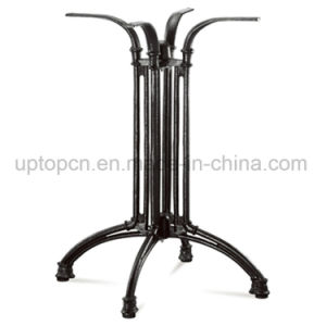 Black Cross Aluminum Table Leg for Outdoor Table (SP-ATL242) pictures & photos