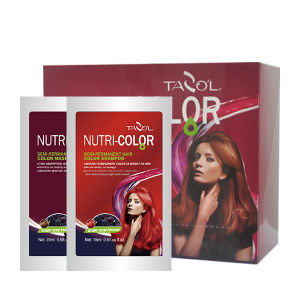 Tazol Nutri-Color Semi-Permanant Hair Color Mask with Gold Yellow pictures & photos