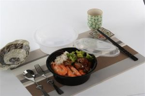 900ml Plastic Soup Bowl with Airtight Cover pictures & photos