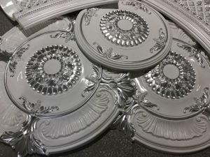 67cm Circular White PU Ceiling Medallions for Interior Ceiling Decoration pictures & photos