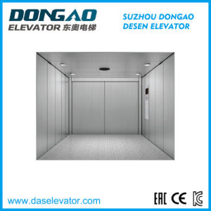 Freight / Goods Lift with Hairline Stainless Steel pictures & photos