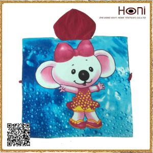 Printed Hooded Baby Towel pictures & photos