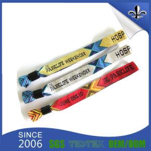 Colorful Woven Fabric Bracelet Black Plastic Lock pictures & photos
