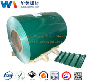 PPGI/Color Coated Steel Coil/Prepainted Galvanized Steel Coils/Sheet pictures & photos