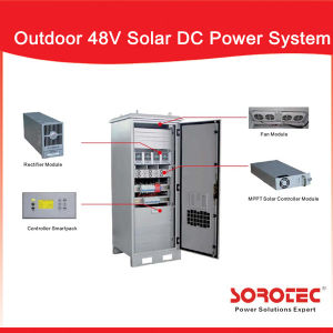 Hybrid Solar Panel System 50A 48V DC Power Supply for Solar Power Plant pictures & photos