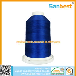 Polyester Embroidery Thread on King Spool with Snap Bottom pictures & photos