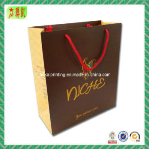 Colorful Art Paper Hand Bag with Custome Printed pictures & photos