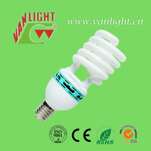 Half Spiral Shape Series CFL Lamps (VLC-HS-65W-E27) , Energy Saving Lamp
