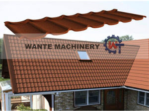 2016 Colorful Stone Coated Metal Roof Tile Price pictures & photos