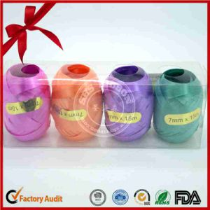 Poly 4 Color 4.5mm Width Curly Ribbon Egg for Easter pictures & photos