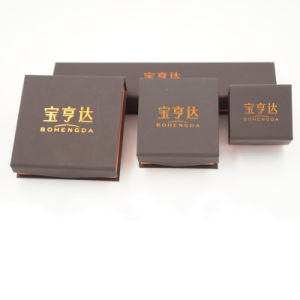 Handmade Trendy Jewelry Custom Gift Packaging Box (J78-E) pictures & photos