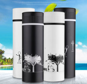 450ml Hot Sale Double Wall Stainless Steel Travel Mug Bueno pictures & photos