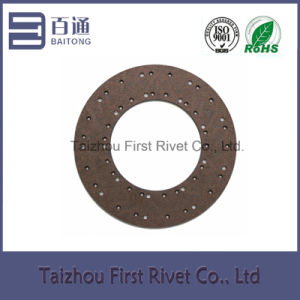 Model Fst189 Copper Series Medium-Alkali (Alkali-free) Clutch Facing for Trucks pictures & photos