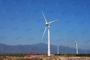 Galvanized Steel Tube Wind Power Tower pictures & photos