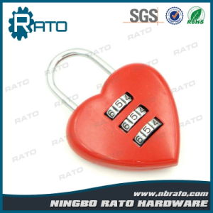 Red Heart Shape Promotion Love Padlock pictures & photos