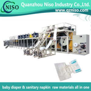 Chinese Adult Diaper Machine for Baby Diaper Adult Diaper Sanitary Napkin pictures & photos