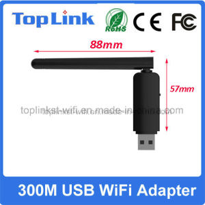 Top-GS07 Dual Band Rt5572 USB 2.0 300Mbps Wireless WiFi Network Card for IP STB pictures & photos