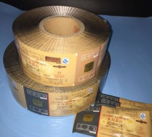 Printed and Laminated BOPP/VMCPP Film for Packing Snacks pictures & photos