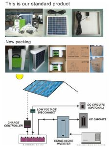 Kss100-36 Mini Solar Power System for Home pictures & photos