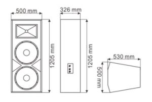 Dual 15′′ EV25 Sound System - Tact pictures & photos