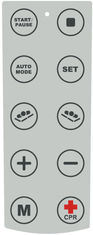 10 Button Metal Dome Keypad Membrane Switch Touch Panel with Clear Window pictures & photos