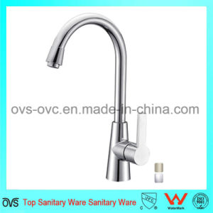 Water Faucet Chrome Mixer Hot and Cold for Kitchen pictures & photos