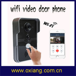 Smart Home 720p WiFi Video Doorbell Support Wireless Unlock Ios Android APP Control pictures & photos