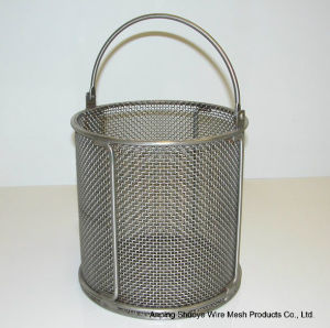 Round Stainless Steel Wire Mesh Oil Filter for Food pictures & photos