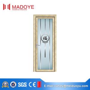 Interior Metal Casement Door with Hollow Glass for Bathroom pictures & photos