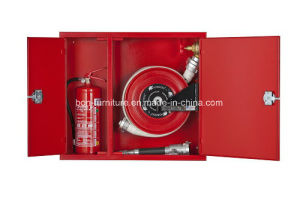 Steel Fire Cabinet with Separate Compartment for Fire Extinguisher and Hose Reel/Metal Fire Cabinets pictures & photos