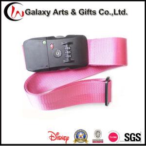 Promotion Gift Nylon Material Custom Adjustable Luggage Strap with Tsa Lock