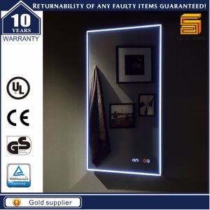 Waterproof Bathroom Electric Illuminated LED Mirror for Us Market pictures & photos