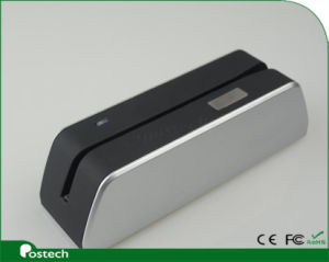 Silver Magstripe Card Reader & Writer, Copy or Compare or Encryption Card Data, Msrx6 pictures & photos