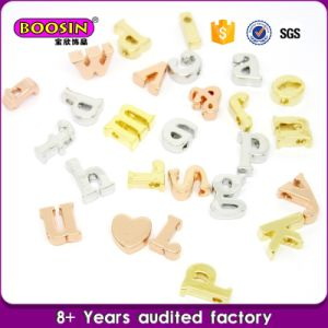 Factory Directly Slide Alphabet Letter Charm pictures & photos