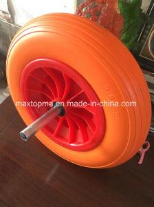 Qingdao Maxtop Factory PU Foam Wheel pictures & photos
