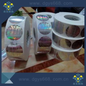 Blue Color Holographic Security Hologram Adhesive Labels pictures & photos