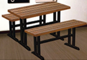 Hot Sales Restaurant Desk and Chair with High Quality pictures & photos