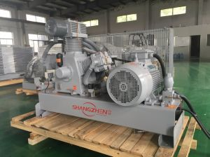 4.0MPa 40bar Air Compressor for Beverage Industry/Food Oil Free Air Compressor pictures & photos