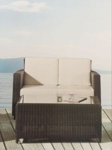 Outdoor Garden Leisure Alu Rattan Sofa pictures & photos