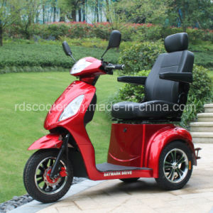 Electric Three Wheel Bike Tricycle Power Wheel Chair Mobiltiy Scooter pictures & photos