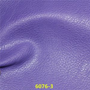 High Abrasion Resistance PU Artificial Leather for Car Seat Cover pictures & photos
