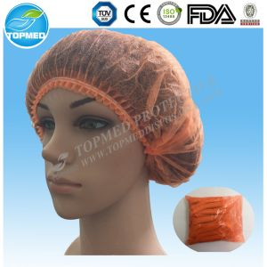 Disposable Non-Woven Surgical Cap or Nurse Cap for Hospital Medical pictures & photos