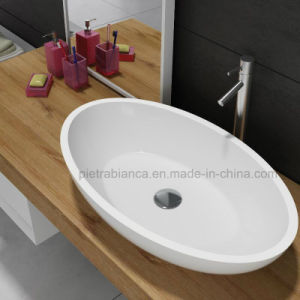 Moder Artificial Stone Counter Top Basin (PB2109) pictures & photos