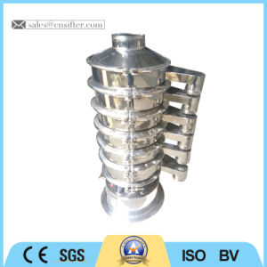 Five Layers Electric Round Powder Vibration Sieve pictures & photos