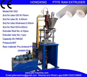 Automatc Vertical PTFE RAM Extrusion Machine for Tube pictures & photos