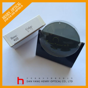 Semifinished 1.499 Single Vision Polarized Green Sunlens UC pictures & photos