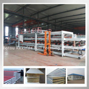 Rock Wool & EPS Sandwich Panel Making Machine for Sale pictures & photos